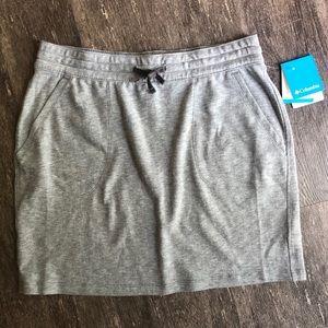 NWT Columbia sweatpant material skirt